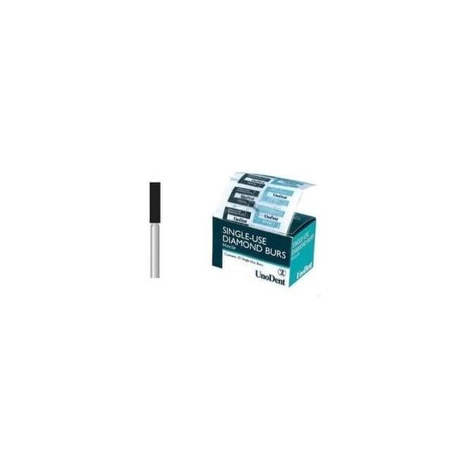 UnoDent Sterile Diamond Bur FG 607 Single Use (BES607)-Box25