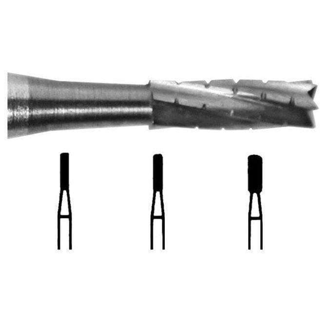 UnoDent Tungsten Carbide Burs Flat Fissure Cross Cut FG 556
