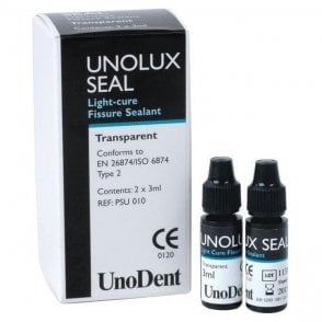 UnoDent Unolux Seal Transparent 2x3ml (PSU010) - Pack2