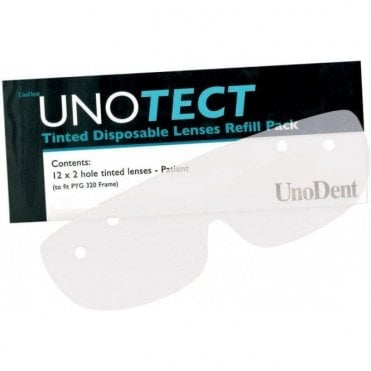 UnoDent Unotect Disposable Lenses Clear (PYG322) - Pack12