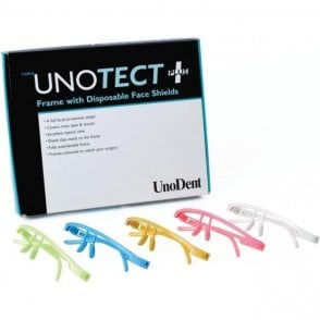 UnoDent Unotect+ Yellow Frame + Disposable Shields (PYG304)