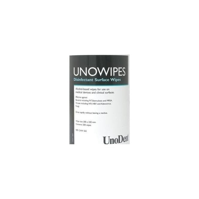 UnoDent UnoWipes Refill (CAW566) - Pack200
