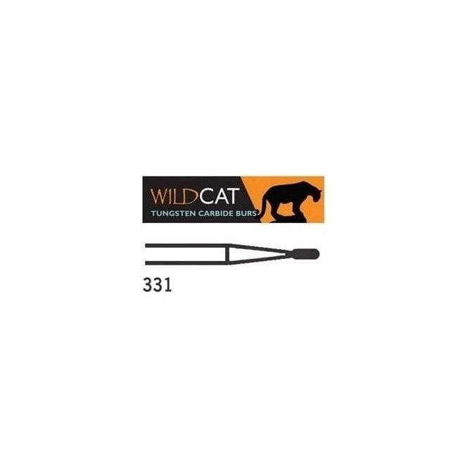 UnoDent WildCat TC Burs Pear Amalgam Plain Cut FG 331 010