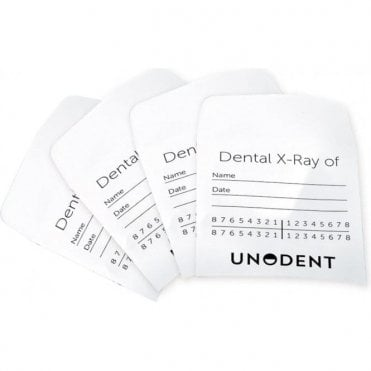 UnoDent X-Ray Envelopes 60 x 60mm - Pack 200