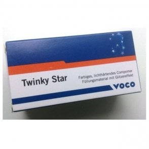 Voco Twinky Star Capsules Blue 25x0.25g (1683) - Pack25