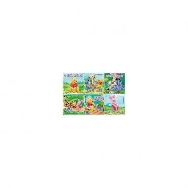 Sherman Winnie the Pooh Stickers (PS418) - Roll100