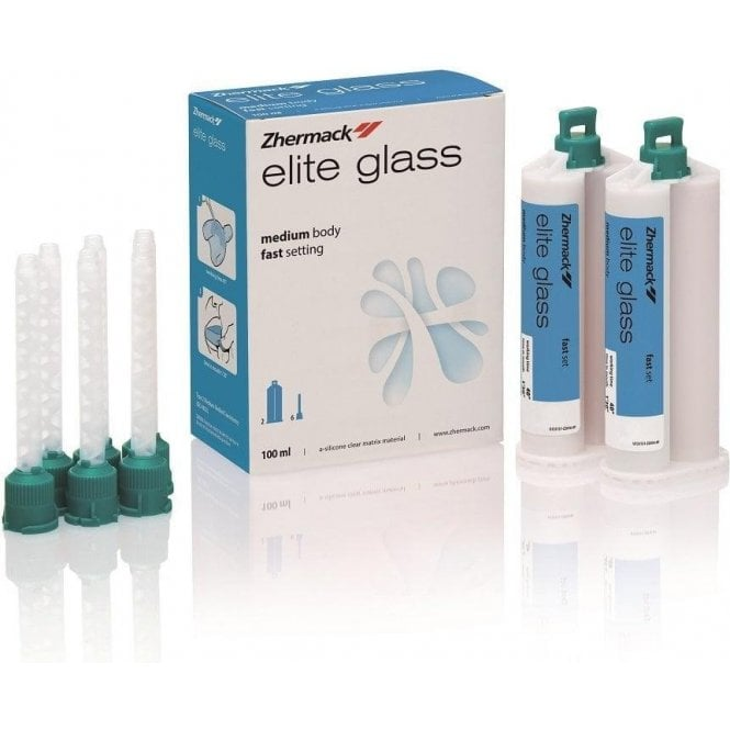 Zhermack Elite Glass Medium Body Fast Set 2x50ml (C401610)