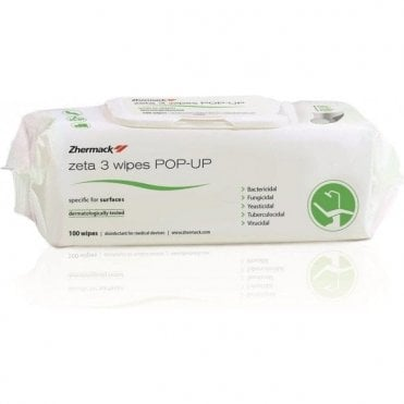Zhermack Zeta 3 Wipes Pop-Up (C810064) - Pack100